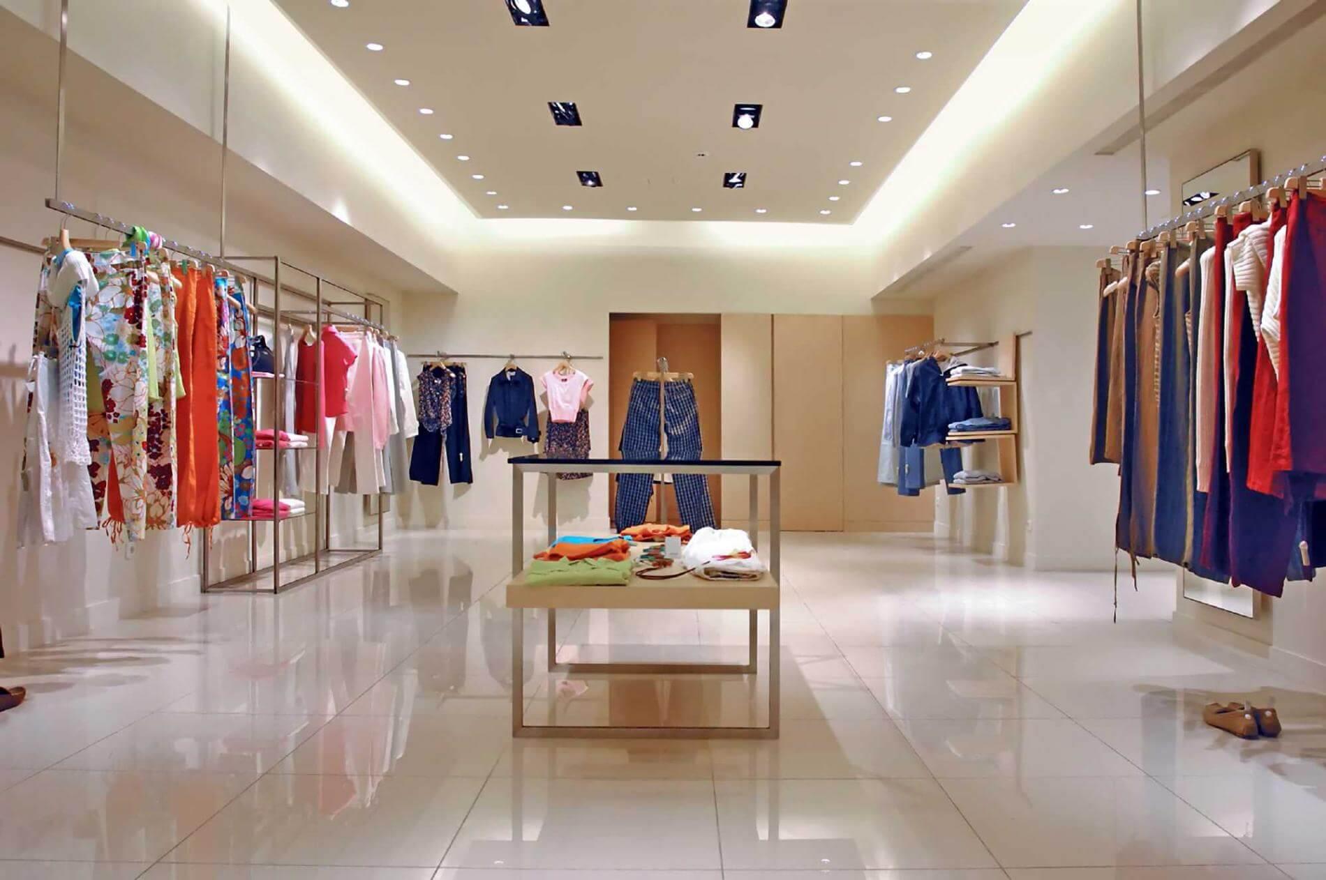חנות בגדים (אילוסטרציה) - שיווק חנויות באמצעות האינטרנט