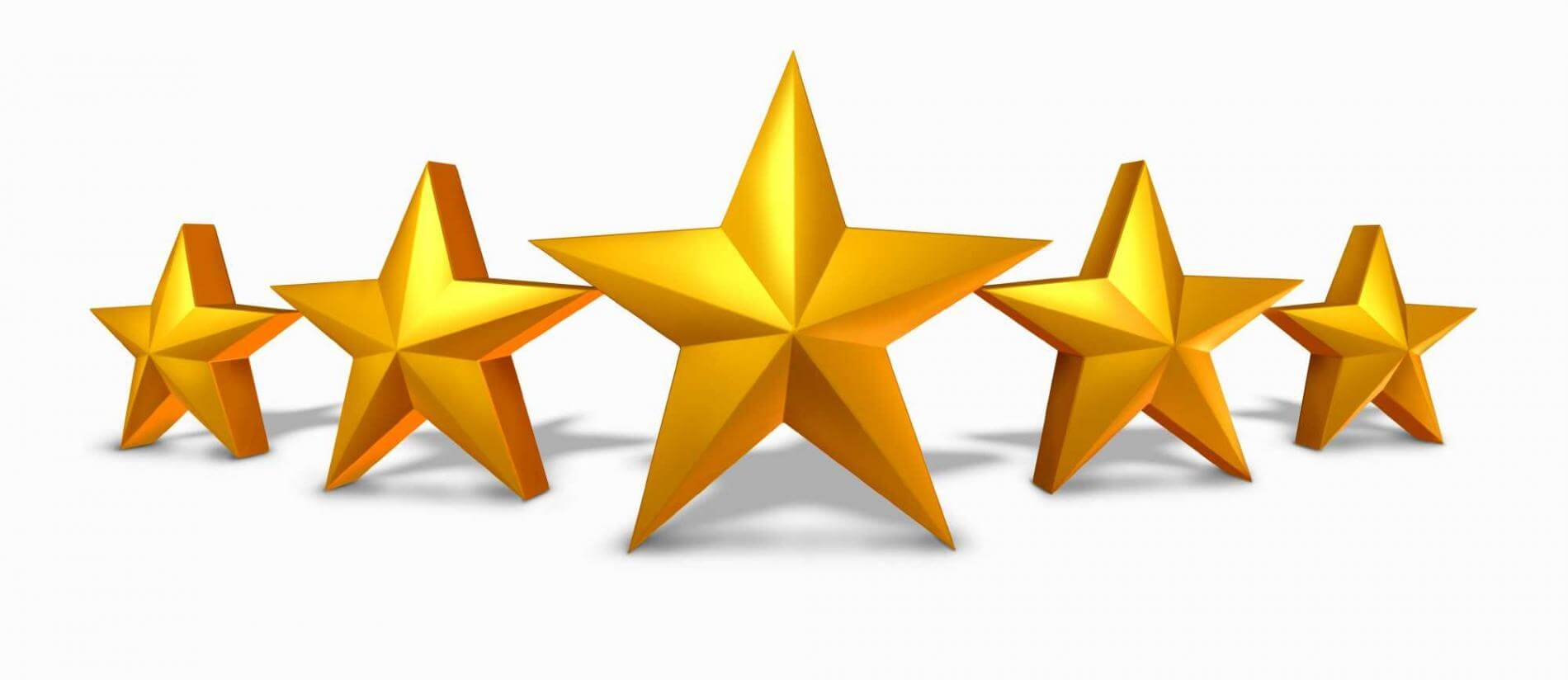 חמישה כוכבים - ביקורת בונה בגוגל לעסק שלי